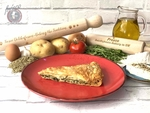 Traditional Spinach and Feta Pie (Spanakopita) (Vegetarian)